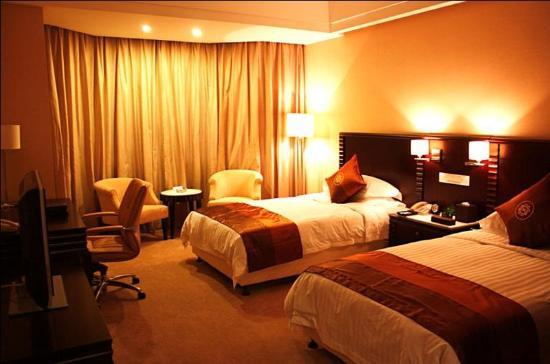 Xiangming Hotel: business twin room