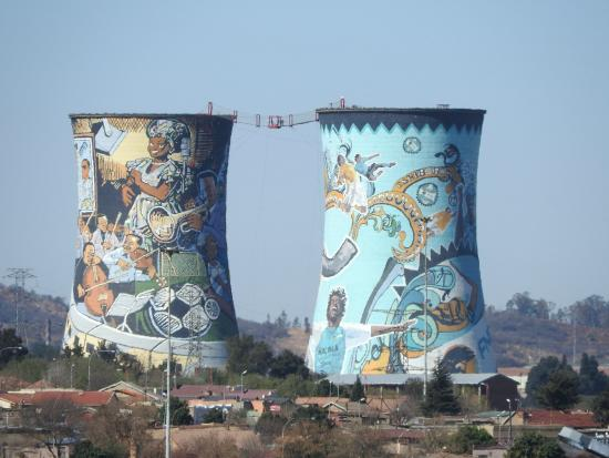South Western Townships: Orlando towers