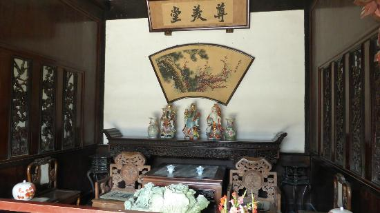 Tianjin Shijia Mansion: Tea Room / Living Area