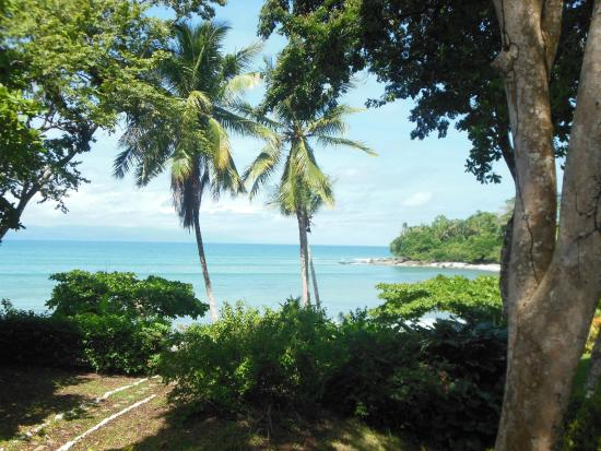Casa Bambu Resort: View from the porch at Casa Linda