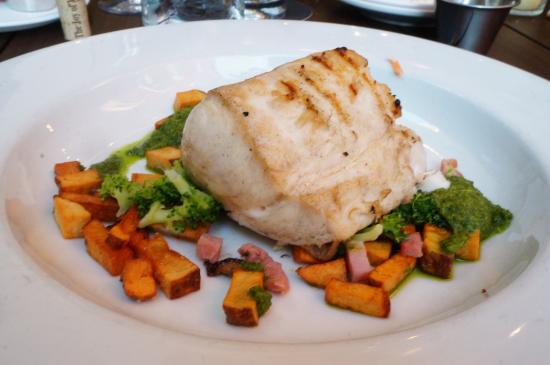 Chandler's A Restaurant : Their Escolar fish dish, think it was a special that night.