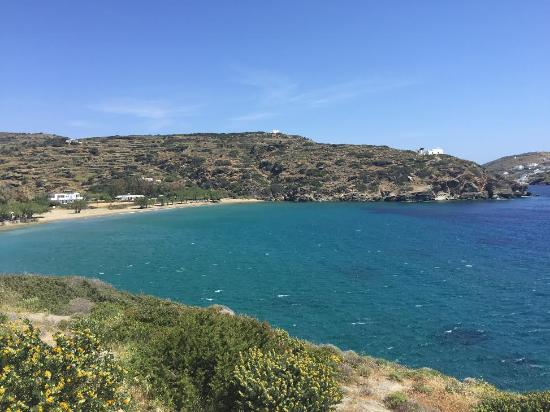 Hotel Boulis : View of Sifnos Beach