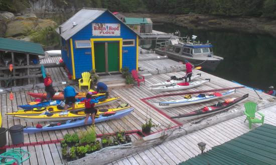 Paddler's Inn: Getting ready for another sceneic day on the water