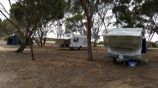 Discovery Lagoon Caravan & Camping Grounds: large camp sites