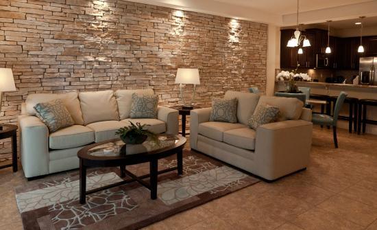 Four Corners, Flórida: Three Bedroom Luxury Townhome Living Area