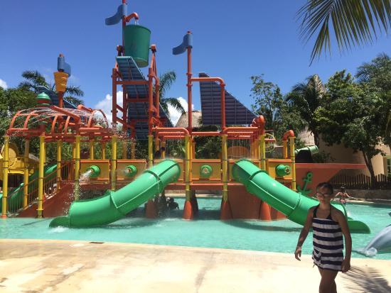 kids water park area picture of iberostar selection paraiso maya rh tripadvisor com