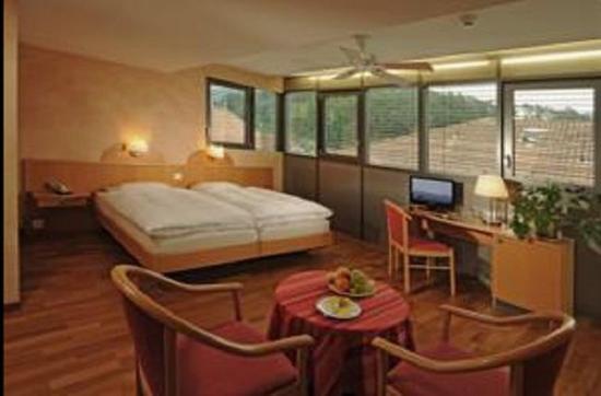 Hotel Crystal Interlaken : Quad Deluxe