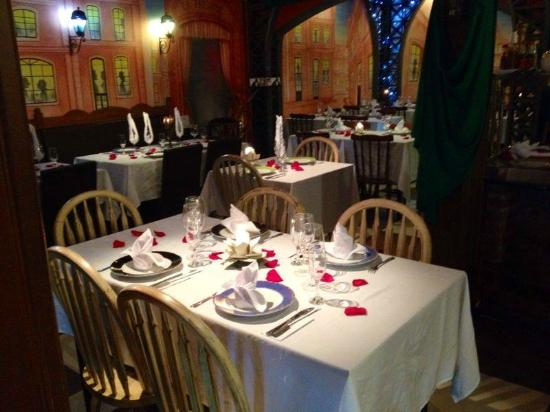 Decoraç u00e3o do dia dos namorados Foto de Ratatouille Restaurante, Gramado TripAdvisor -> Decoração De Restaurante Para Dia Dos Namorados