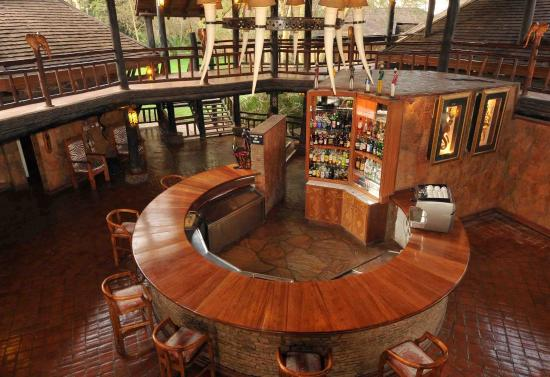 Ol Tukai Lodge: Bar/Lounge