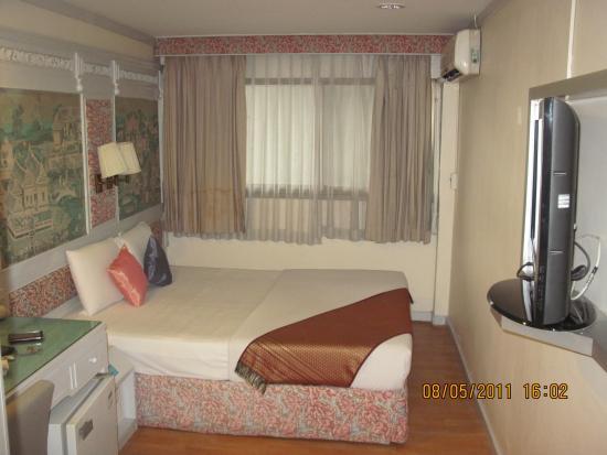 Pratunam City Inn: Single room view