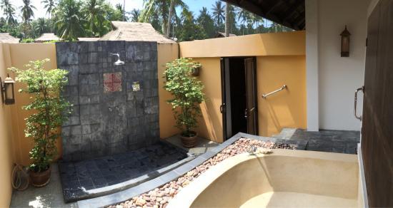 Elixir Resort: Villa bord de mer avec piscine privée, top!