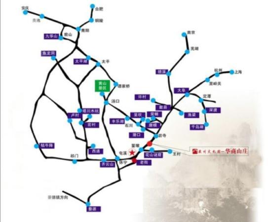 Huashang Hotel: Map