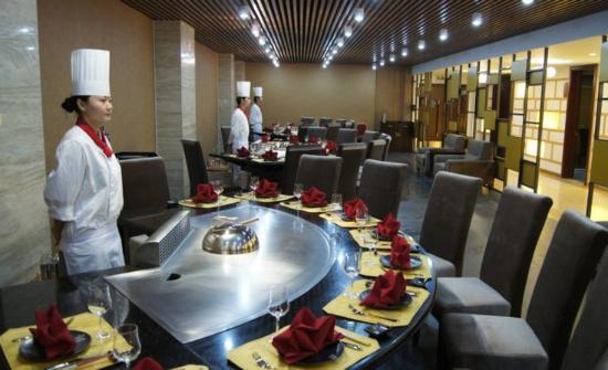 Donggang, Κίνα: Restaurant