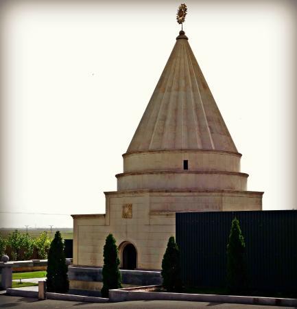 Armavir, Armenia: Ziarat Yazidi Temple