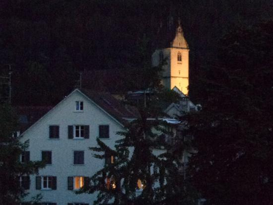 Hotel Weisses Kreuz : Evening view