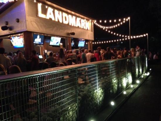 Landmark Bar U0026 Kitchen Fort Worth: Outdoor Covered Patio: Pet Friendly,  Smoking Allowed
