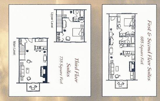 Water Street Inn: Condo Layout