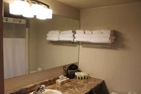Florenceville-Bristol, Kanada: Bathroom