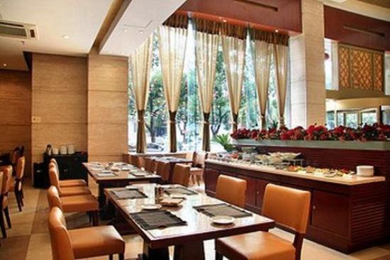 Xinzhou Haiwan Hotel (Shaoxing Keqiao) : Restaurant