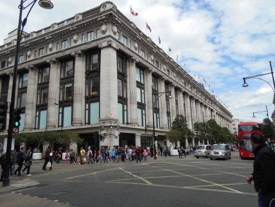 1865776eb6f1 Selfridges  Oxford Street department store. - Picture of Selfridges ...