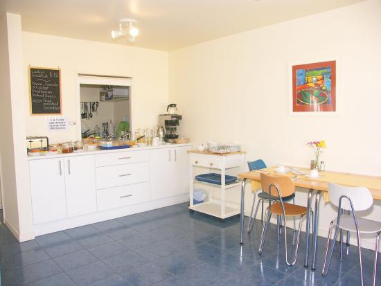 Harbourside Motor Lodge: Breakfastroom