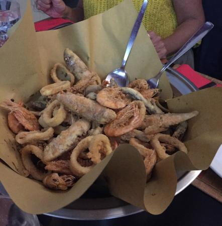 Hall of Fame Sport Bistrot: fritto misto