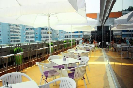 Hotel Relax: Roof bar
