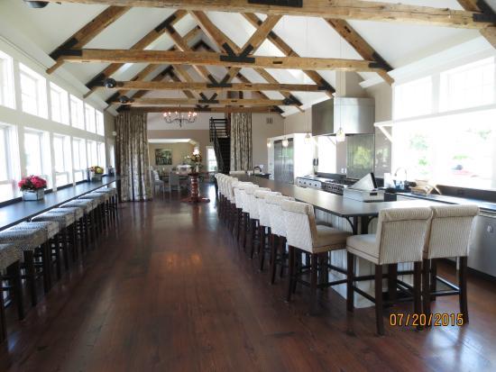 Cellardoor Winery function room & function dining room - Picture of Cellardoor Winery Lincolnville ...