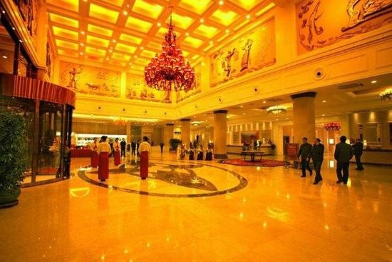 Zhumadian, China: Lobby