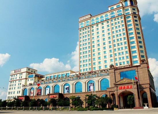 Longmen County, China: Exterior