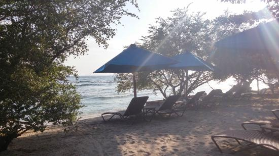 Villa Grasia Resort & Spa: beach area