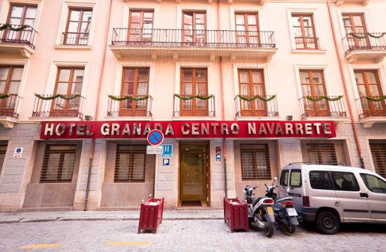 Granada Centro Hotel: Facade