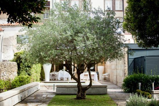 Hotel Bracara Augusta: Jardim