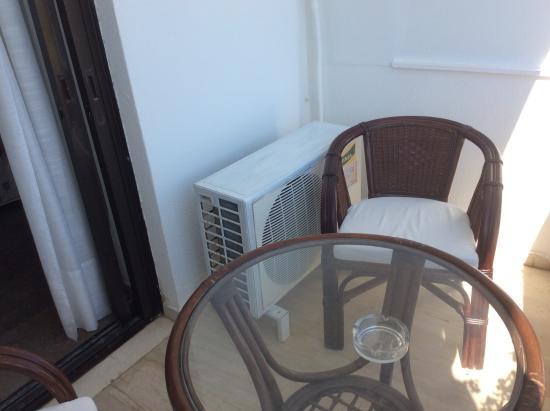 Aeolos Bay Hotel: Balcon