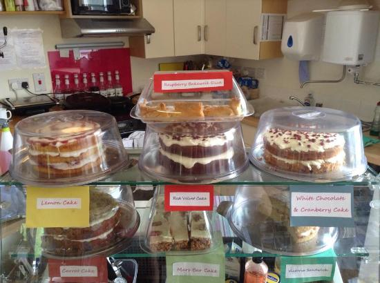 Uist Coffee Shop: All home baked in Lochboisdale Cafe