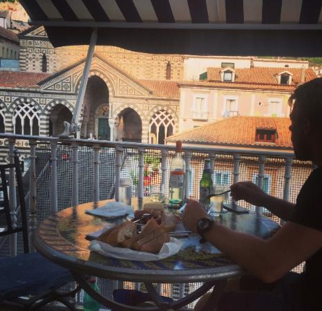 Hotel Centrale: Aperitif on the rooftop