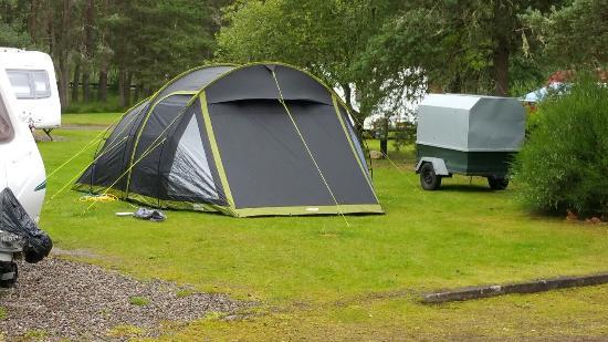 Cannich Caravan & Camping Park: Brilliant!