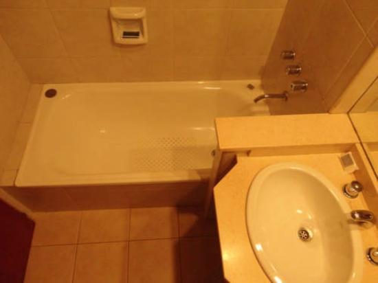 Hotel Carrara: Baño