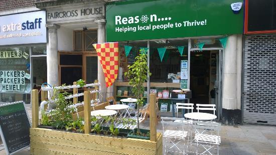 Reason Coffee Shop & Bookstore