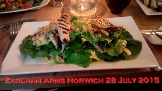 The Earlham Arms Restaurant: Caesar Salad