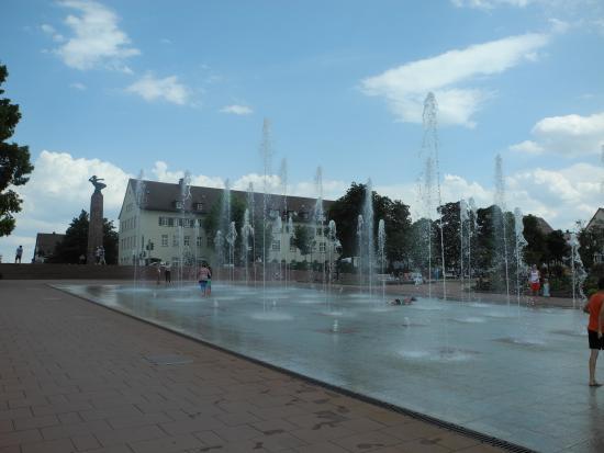 Hotel-Gasthof Jagerstuble: Wasserspiele Freudenstadt