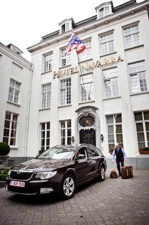 Bruges Hotel Navarra Parking
