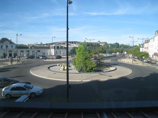 Le Berry Hotel : Vista desde la ventana del hotel