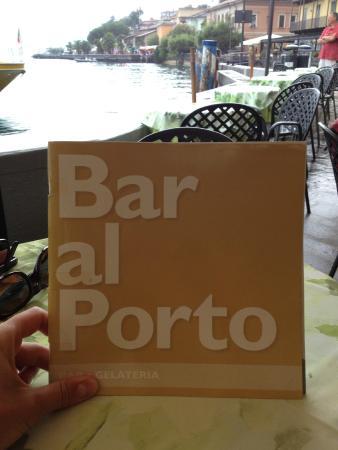 Bar Al Molo : Framsida meny