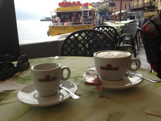 Bar Al Molo : Kaffe och utsikt