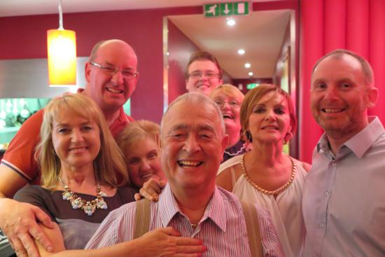 The Grill Room : young man of 80 having a fab time