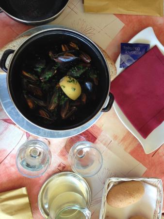 Jacky Bar : 1 kg musslor