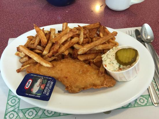 Daily Special Fish & Chips - Sisters & Euphoria, Englehart ON