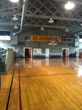 Beautifully maintained gym that dates back to the 1920s