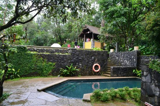 The pool with zorbing picture of club mahindra madikeri - Resorts in madikeri with swimming pool ...
